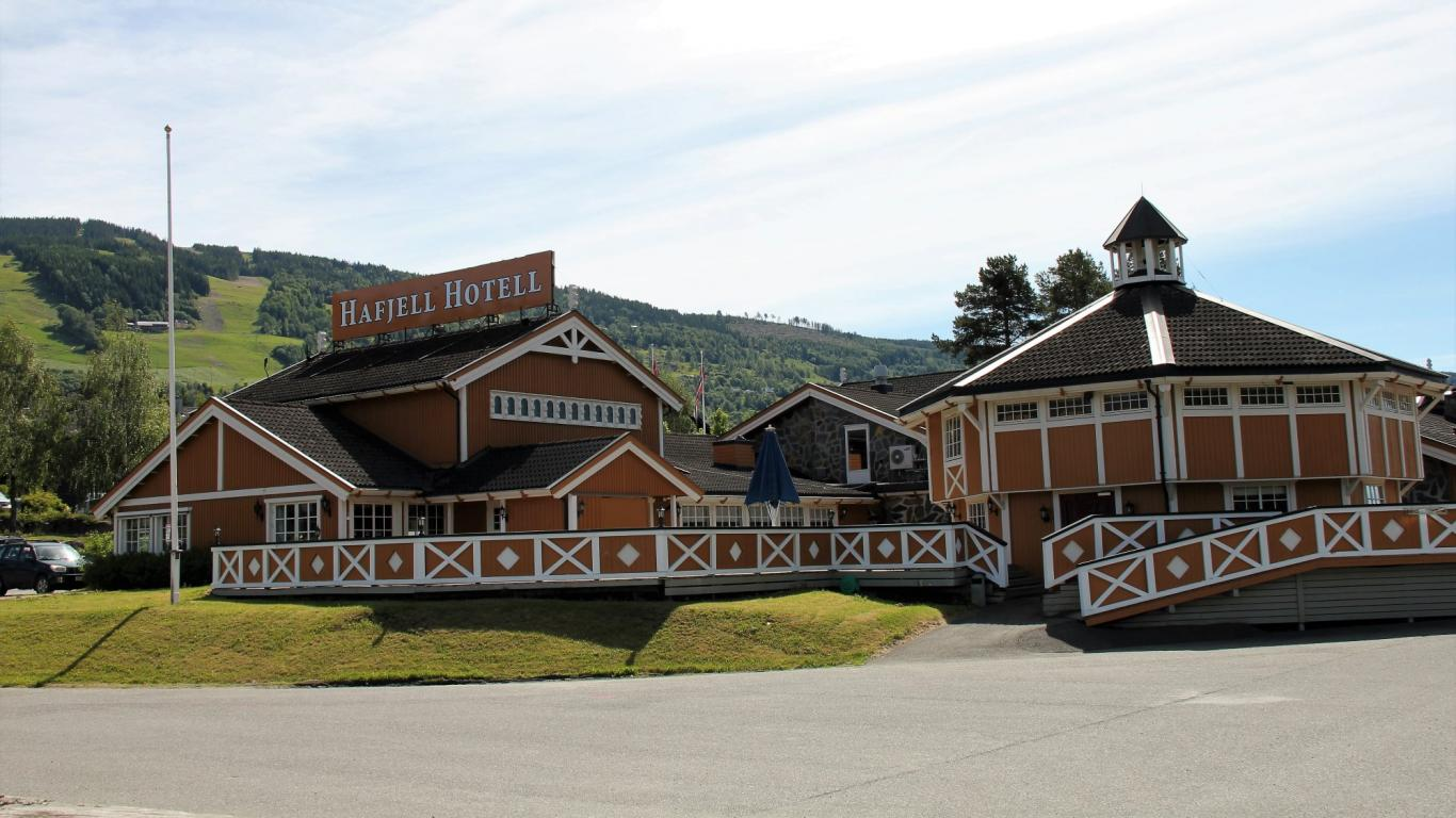 Hafjell Hotell ved Lilleputthammer